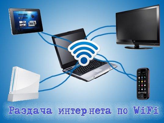 Бесплатный wi-fi без роутера